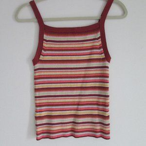 NWT GAP Multi Fitted Knit Tank Size Small